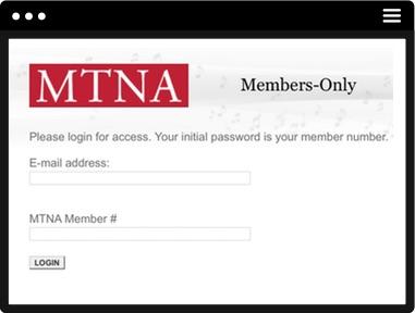 MTNA Members Only